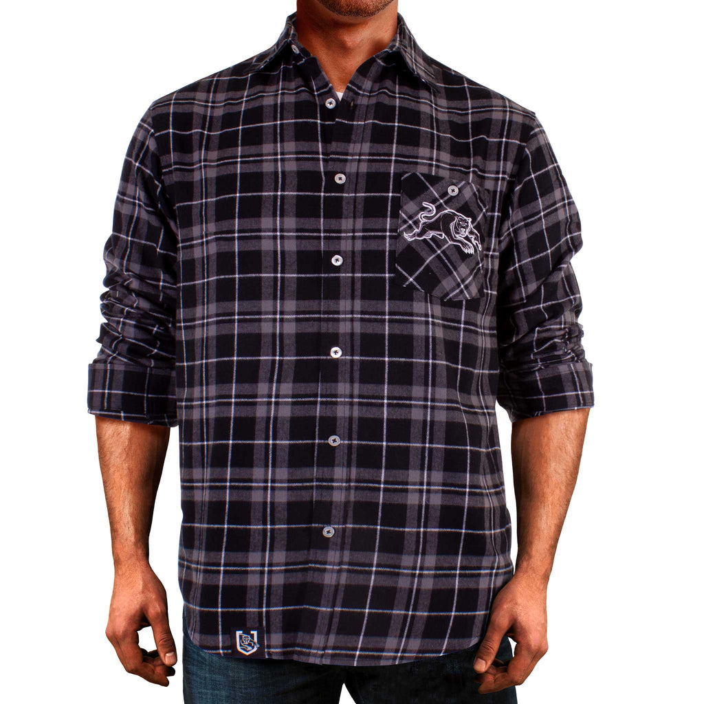 NRL Panthers Flannel Shirt