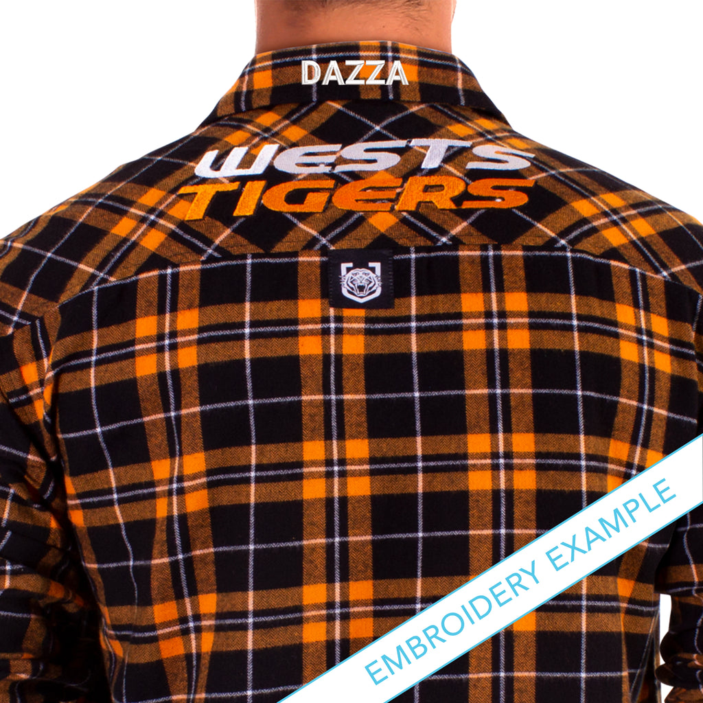 NRL Wests Tigers Flannel Shirt