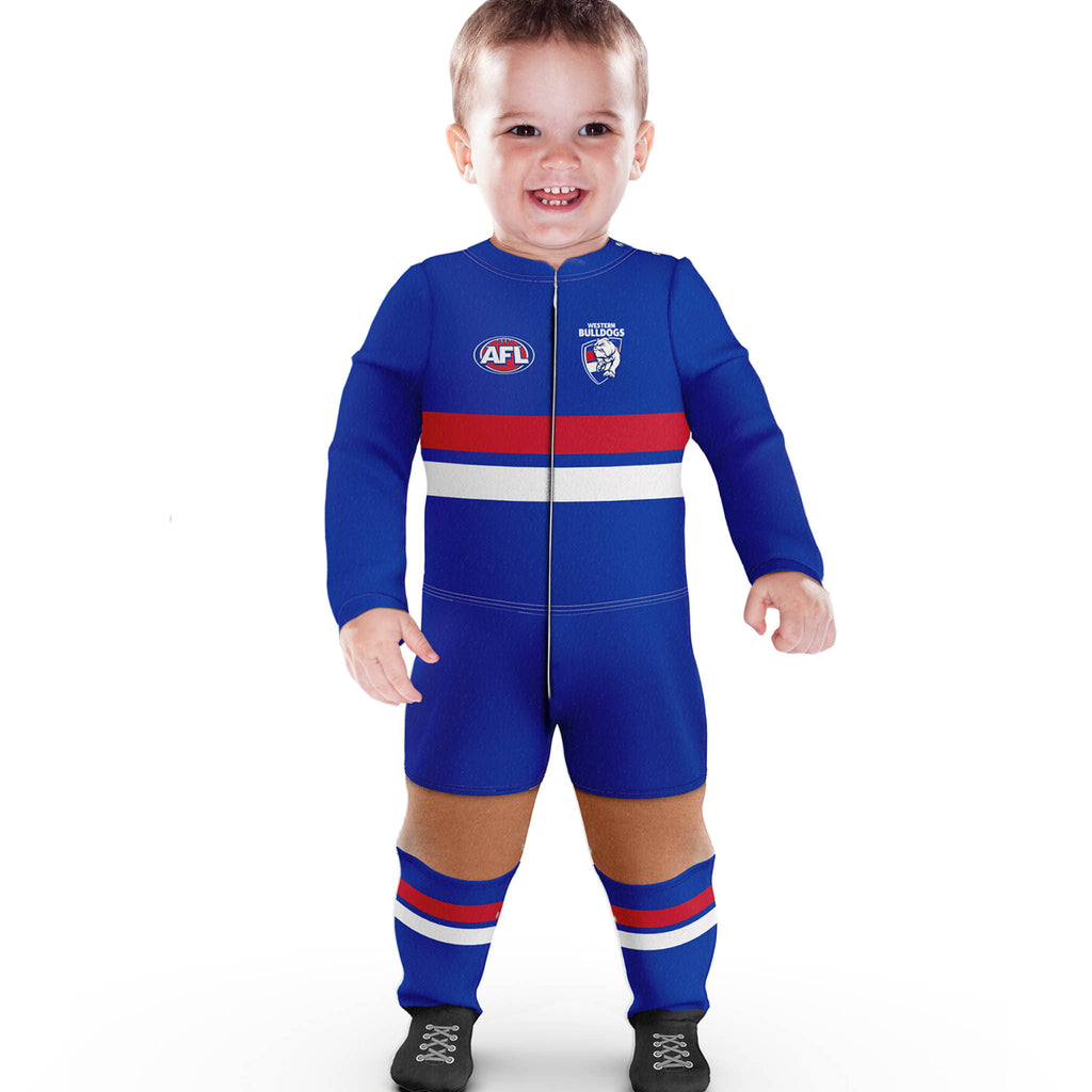 AFL Western Bulldogs Footysuit