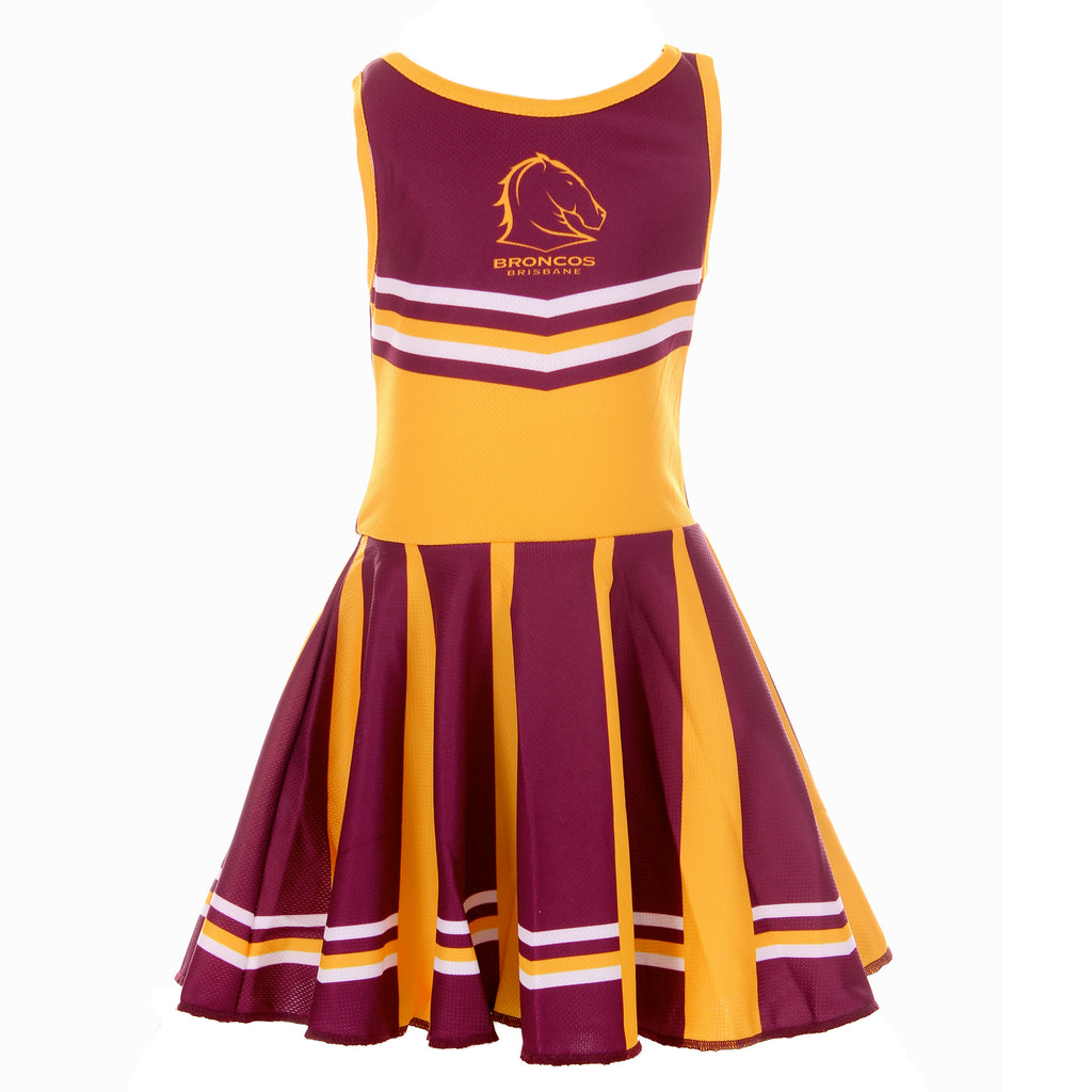 NRL Broncos Girls Dress Ashtabula