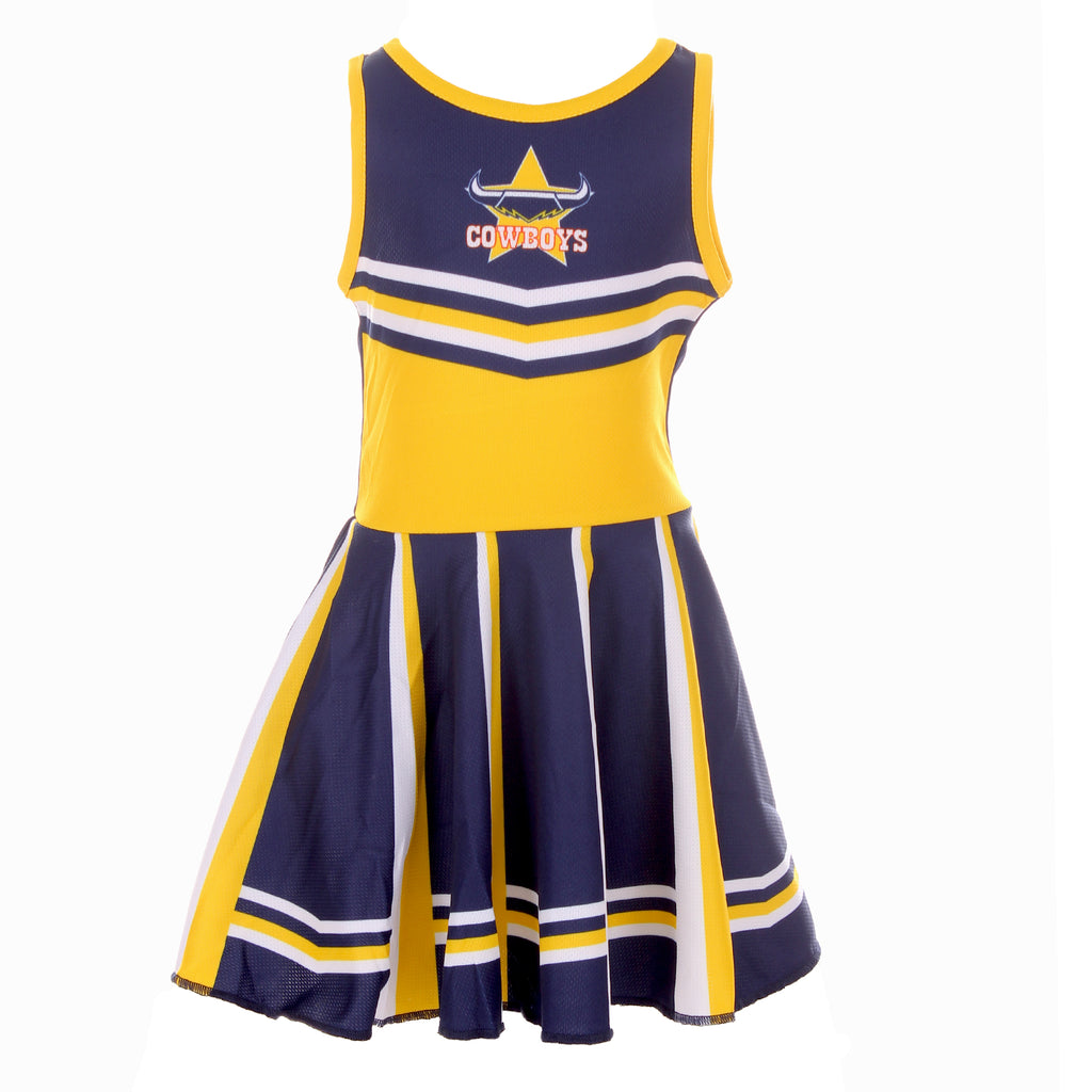 NRL Cowboys Girls Dress Ashtabula