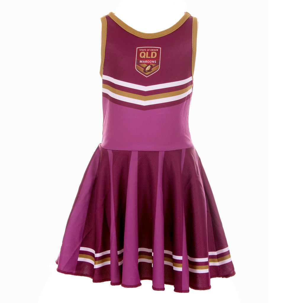 QLD Maroons Girls Dress Ashtabula