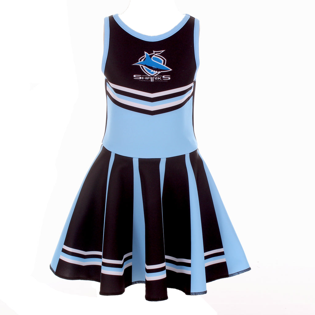NRL Sharks Girls Dress Ashtabula