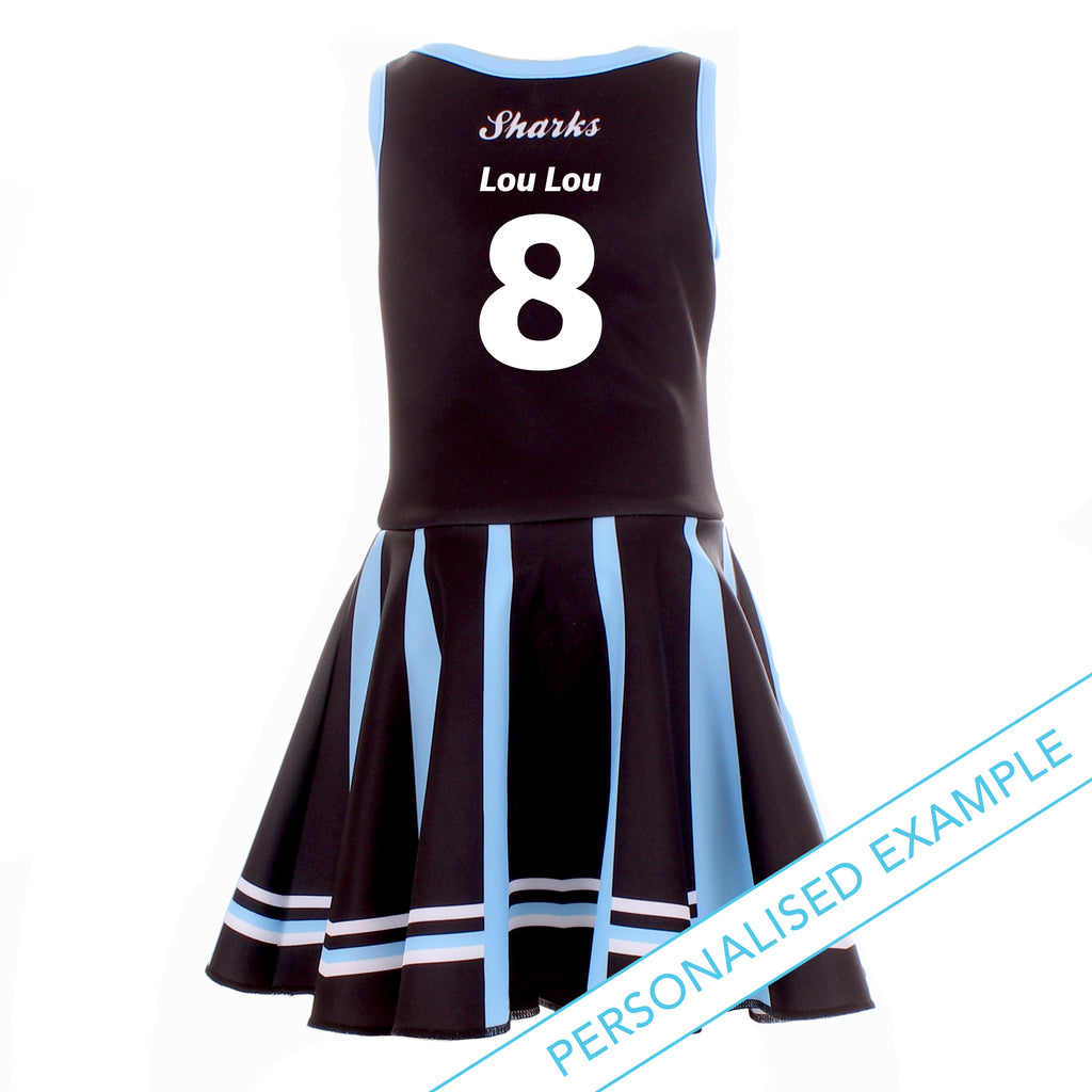 NRL Sharks Girls Dress