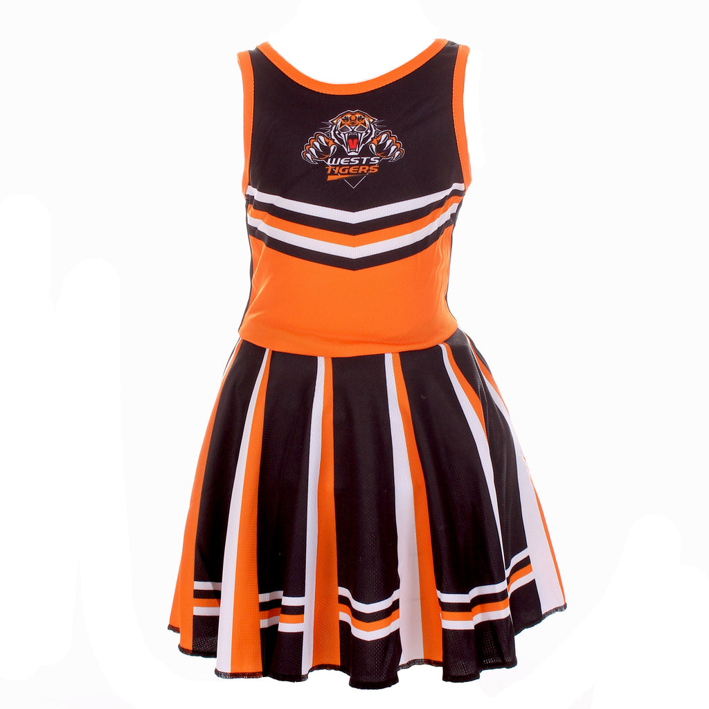 NRL Wests Tigers Girls Dress Ashtabula