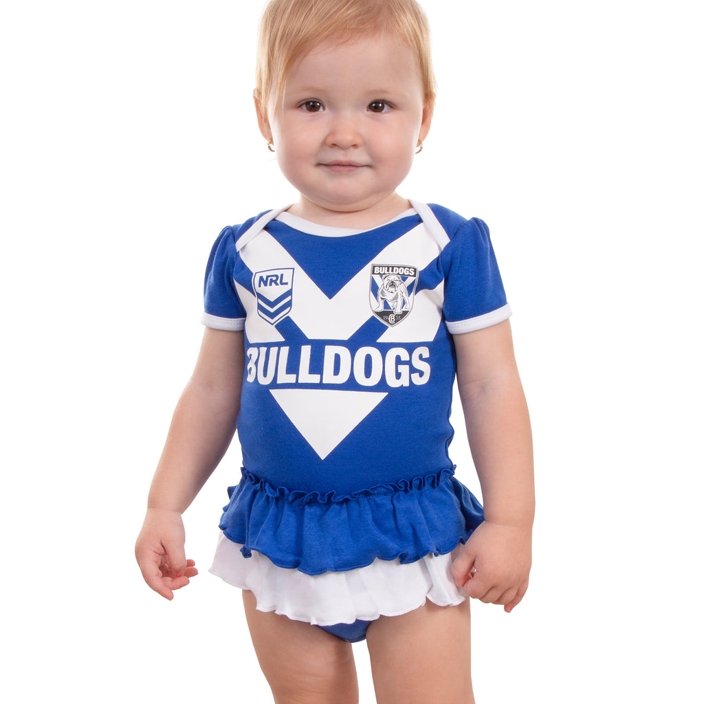 NRL Bulldogs Girls Footysuit