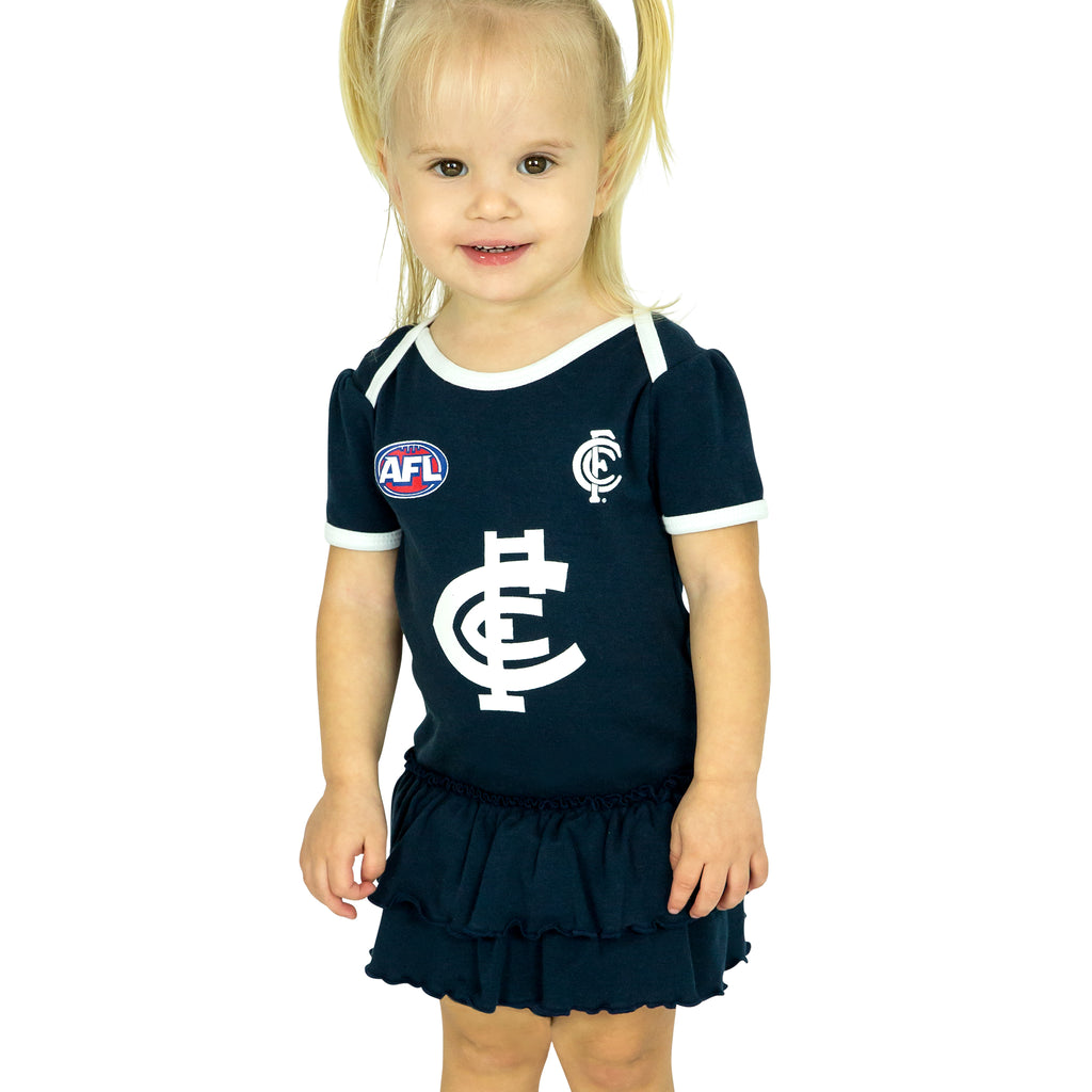 AFL Carlton Girls Footysuit