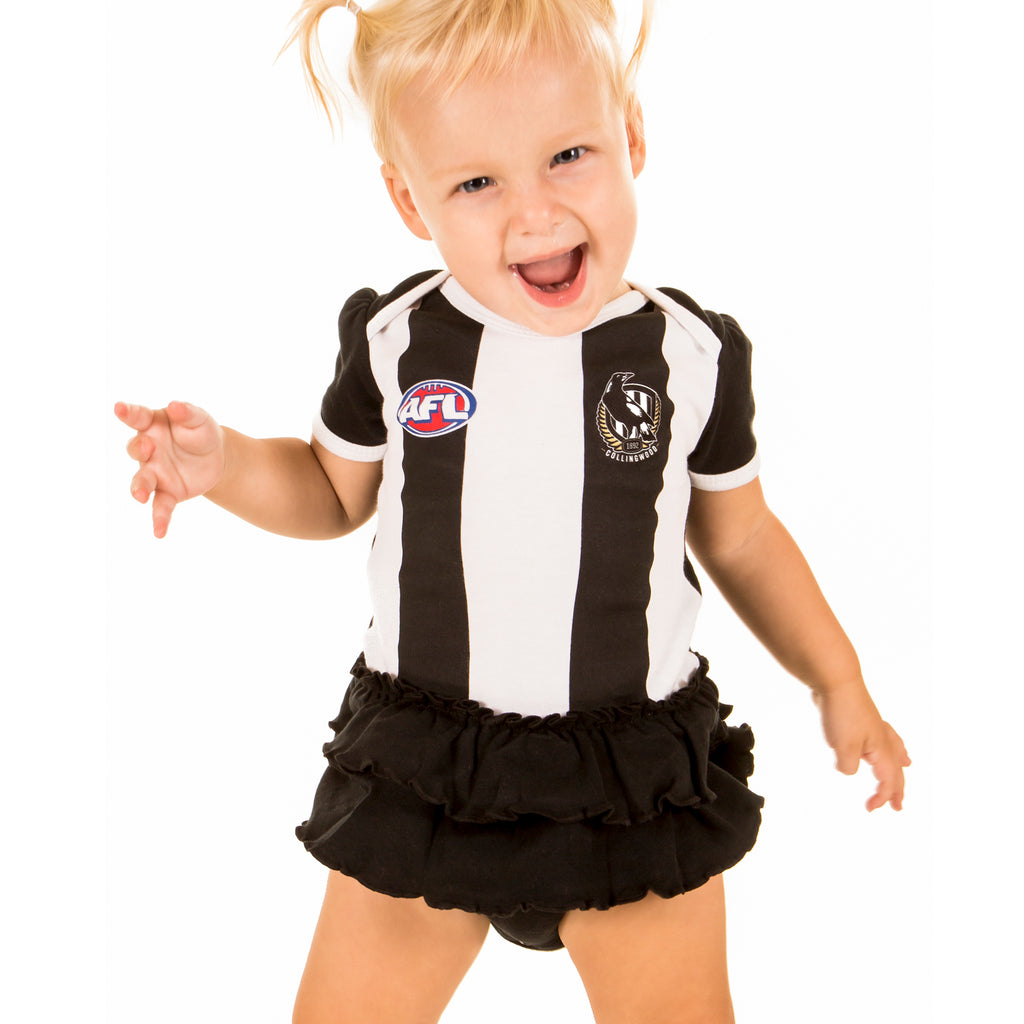 AFL Collingwood Girls Footysuit