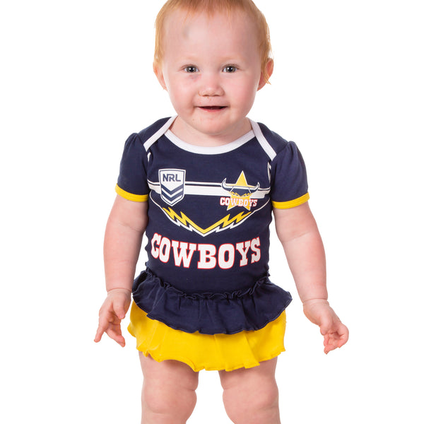 NRL Cowboys Girls Footysuit