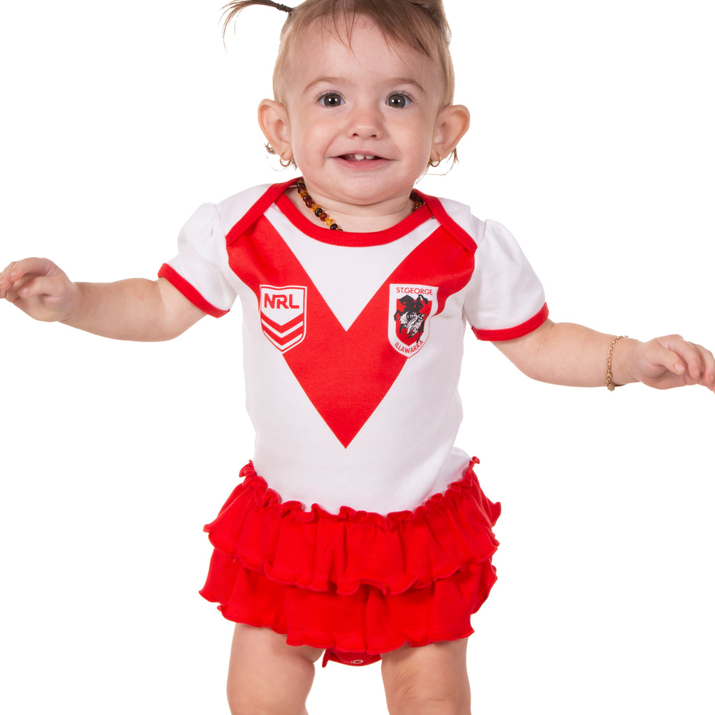 NRL Dragons Girls Footysuit