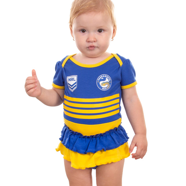 NRL Eels Girls Footysuit