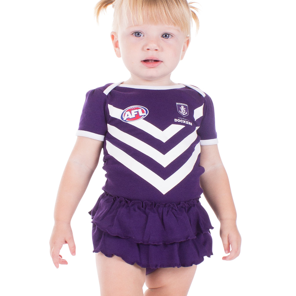 AFL Fremantle Dockers Girls Footysuit
