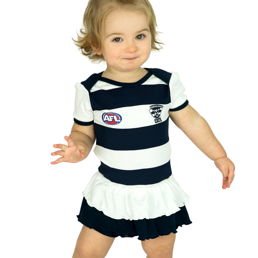 AFL Geelong Cats Girls Footysuit