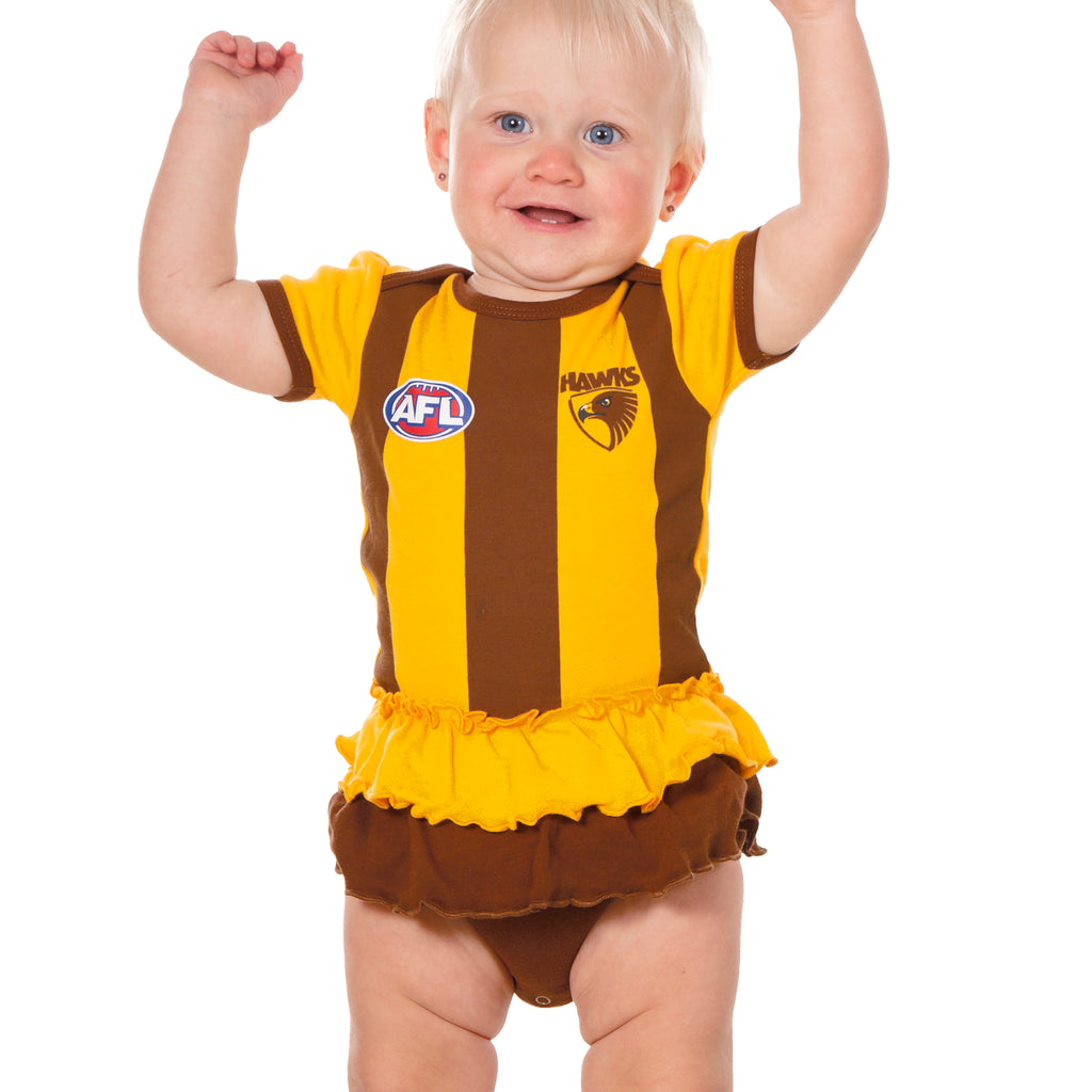 AFL Hawthorn Girls Footysuit