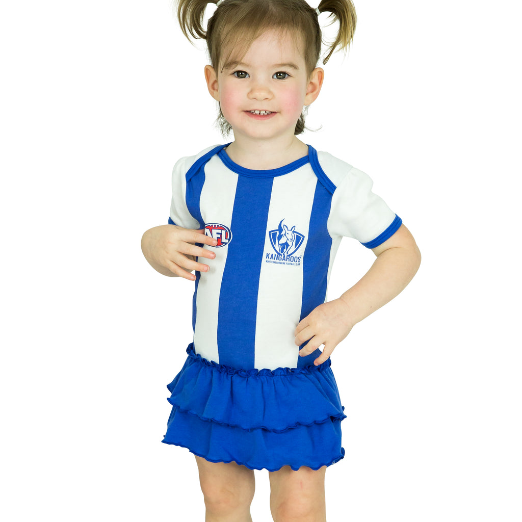 AFL North Melbourne Girls Footysuit