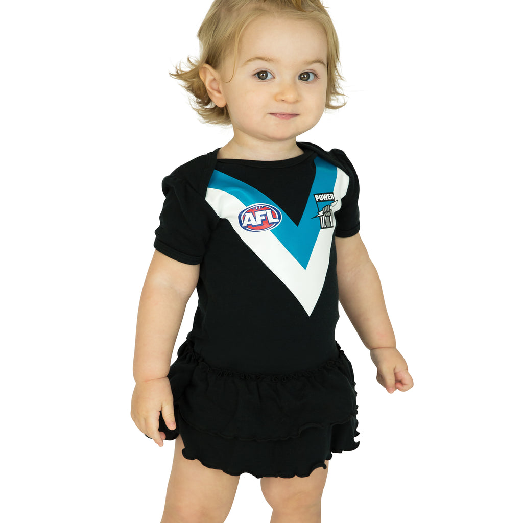 AFL Port Adelaide Girls Footysuit