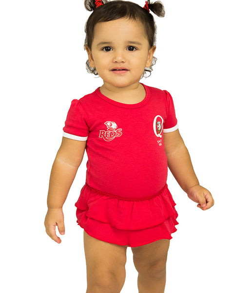 QLD Reds Girls Footysuit