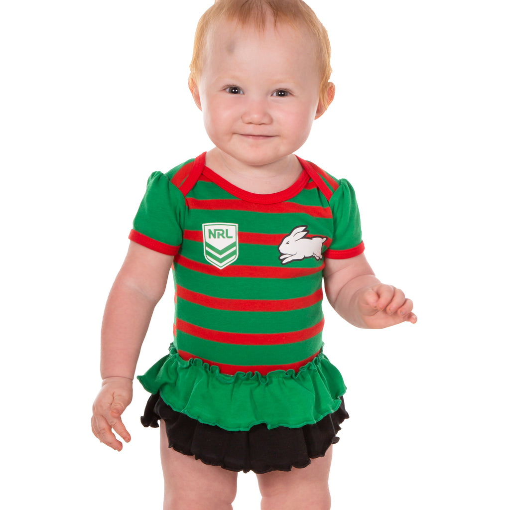 NRL Rabbitohs Girls Footysuit