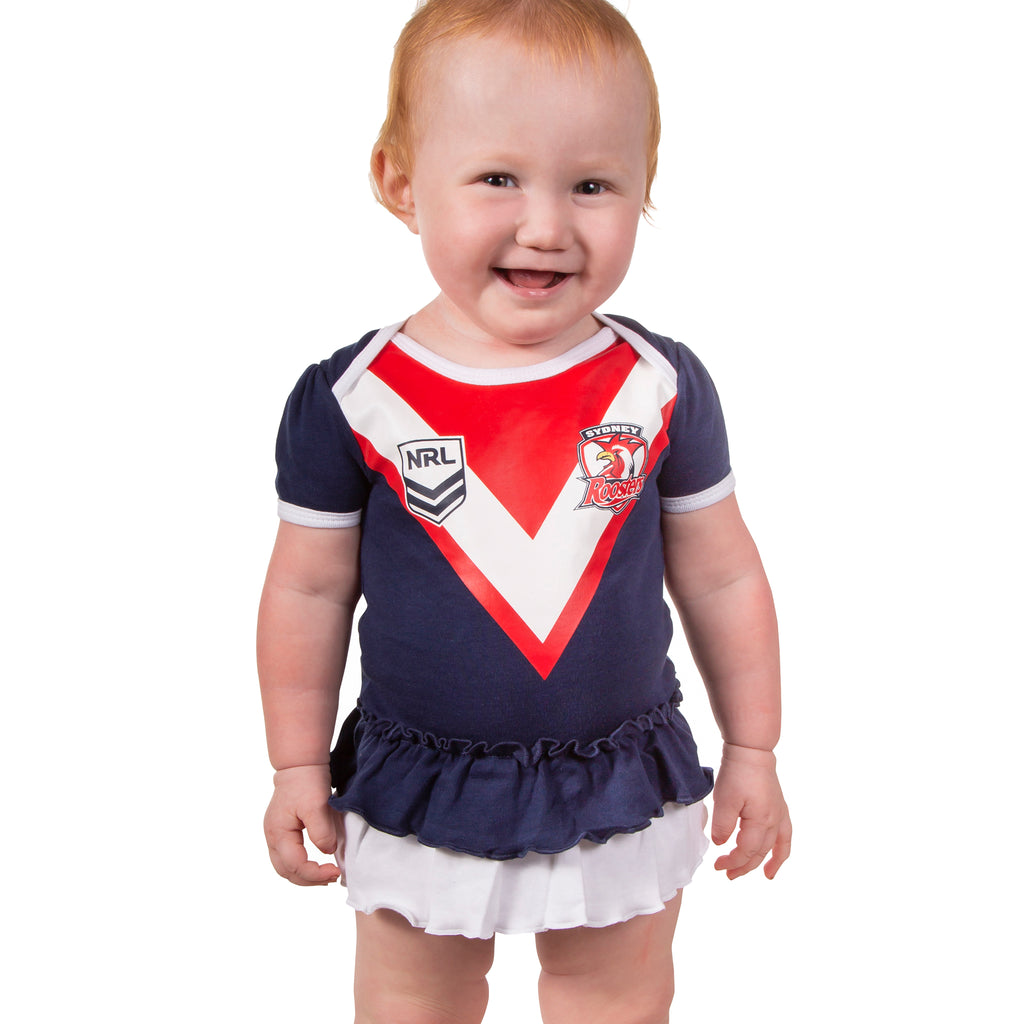 NRL Roosters Girls Footysuit