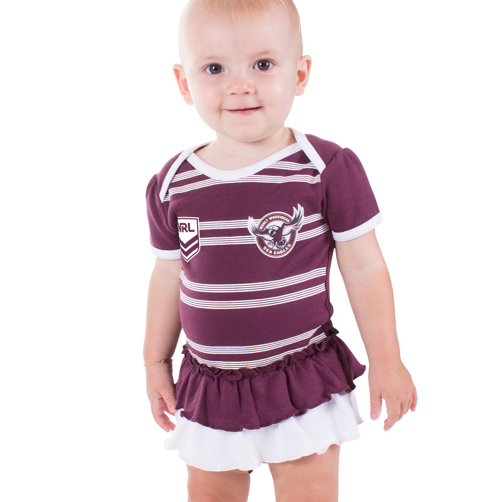 NRL Sea Eagles Girls Footysuit
