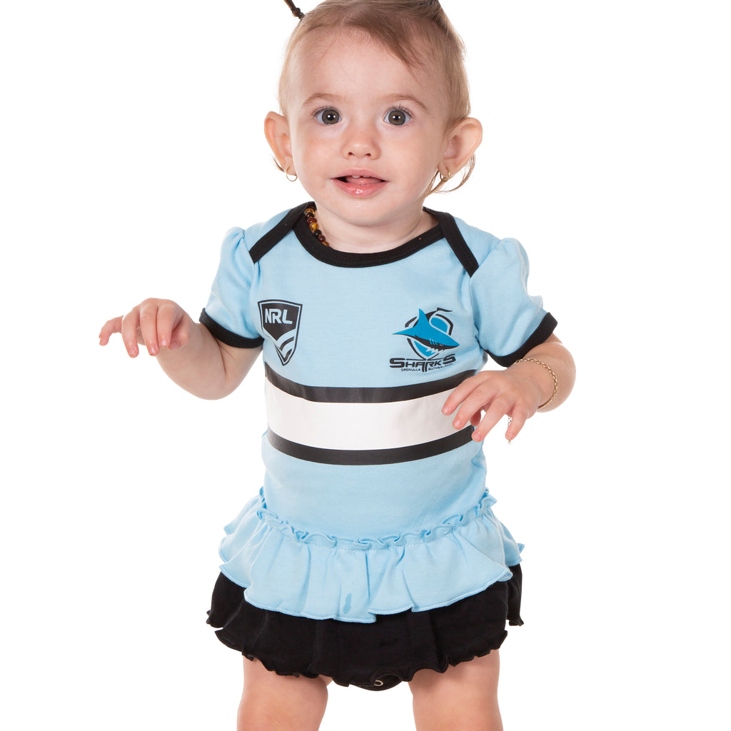 NRL Sharks Girls Footysuit