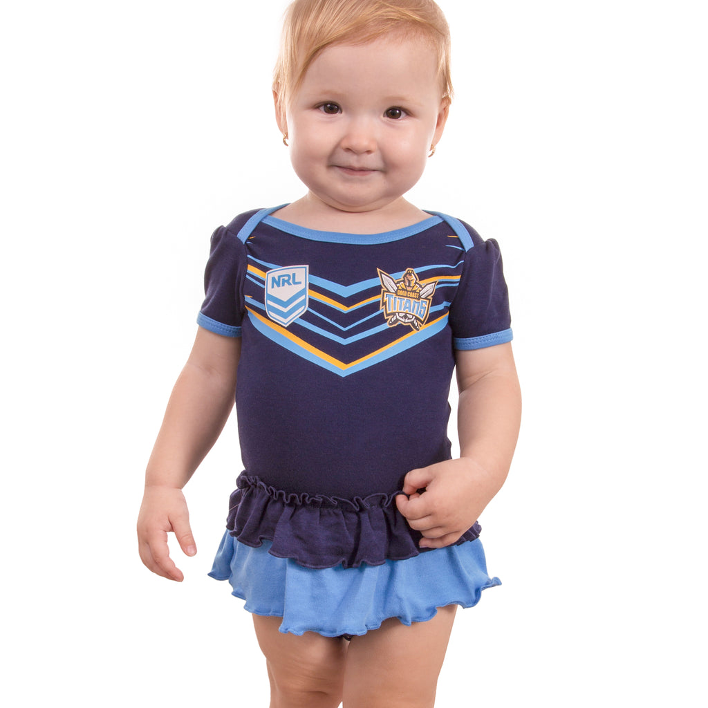 NRL Titans Girls Footysuit