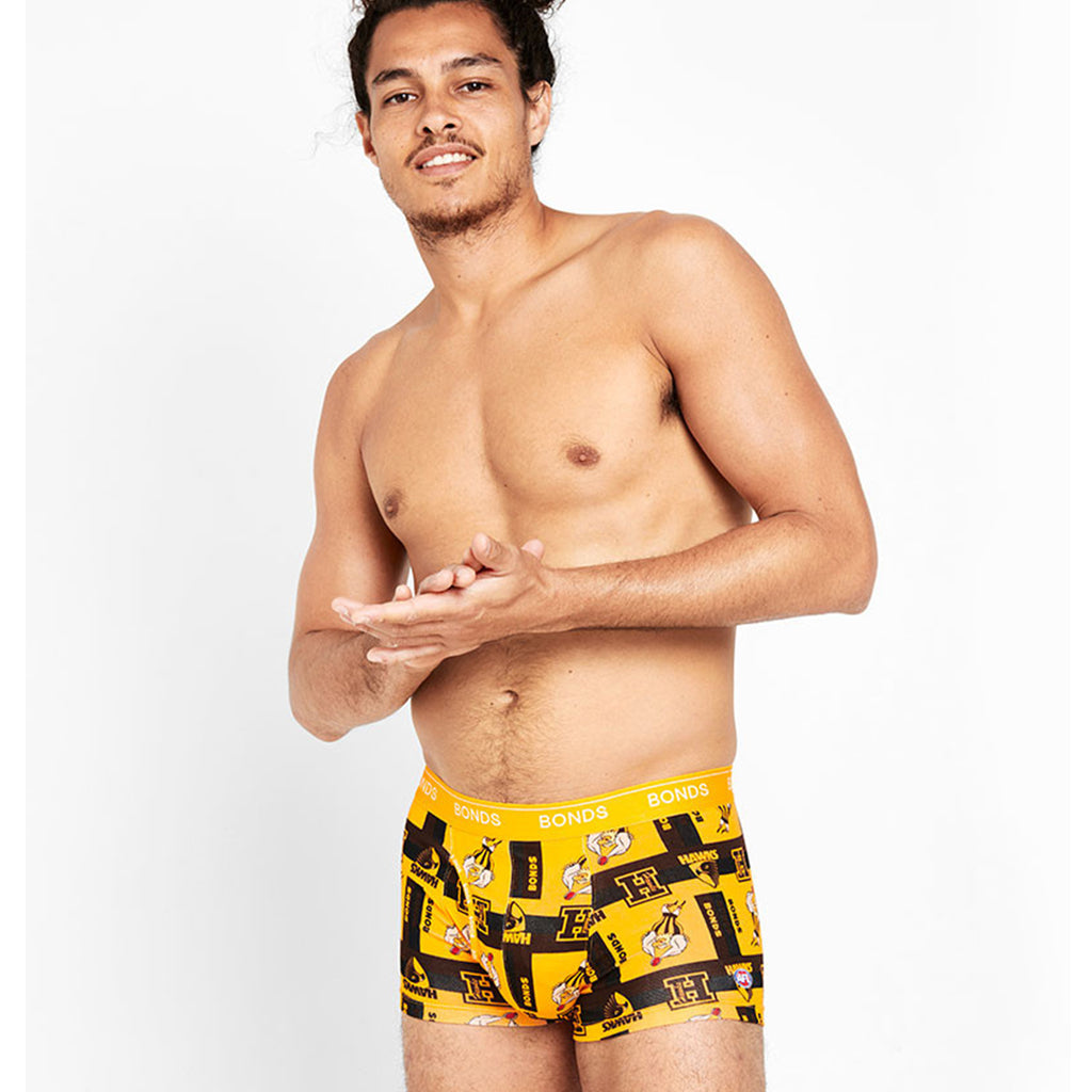 AFL Hawthorn Bonds Guyfront Trunk