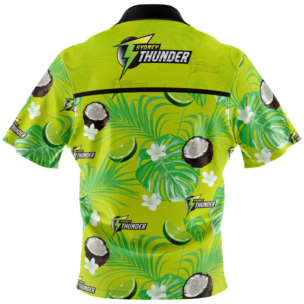 BBL Sydney Thunder Hawaiian Shirt - Adult AshTabula