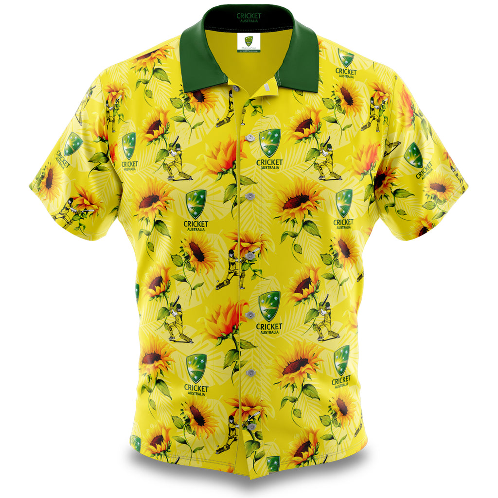 Cricket Australia Hawaiian Shirt Ashtabula