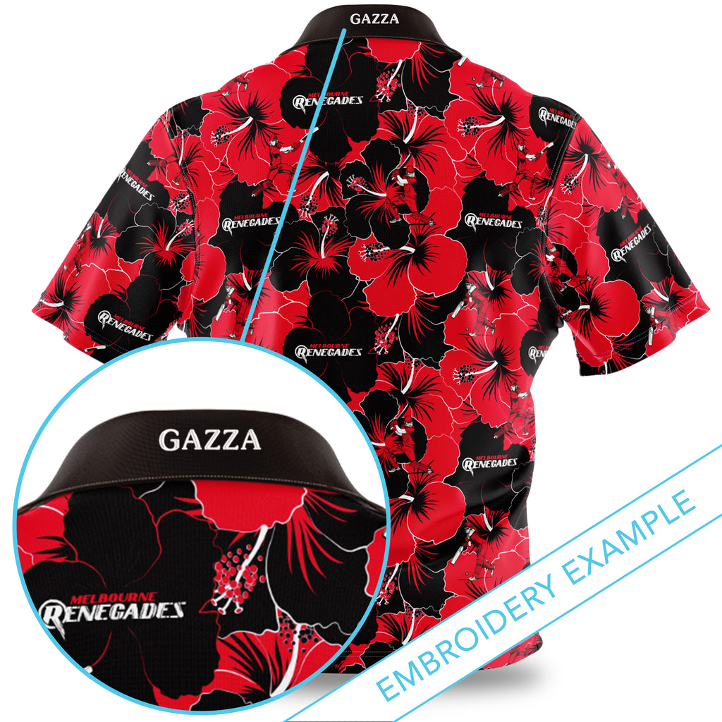 BBL Melbourne Renegades Hawaiian Shirt Ashtabula