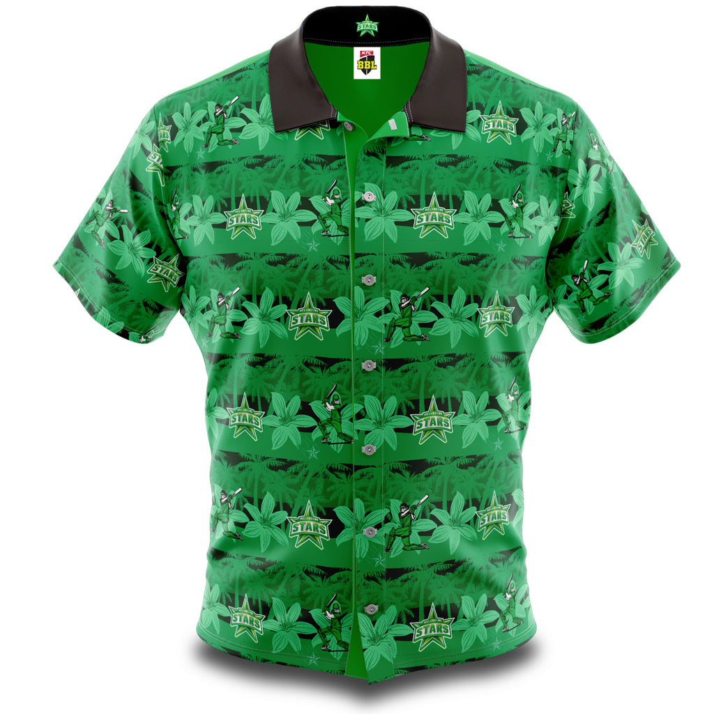 BBL Melbourne Stars Hawaiian Shirt