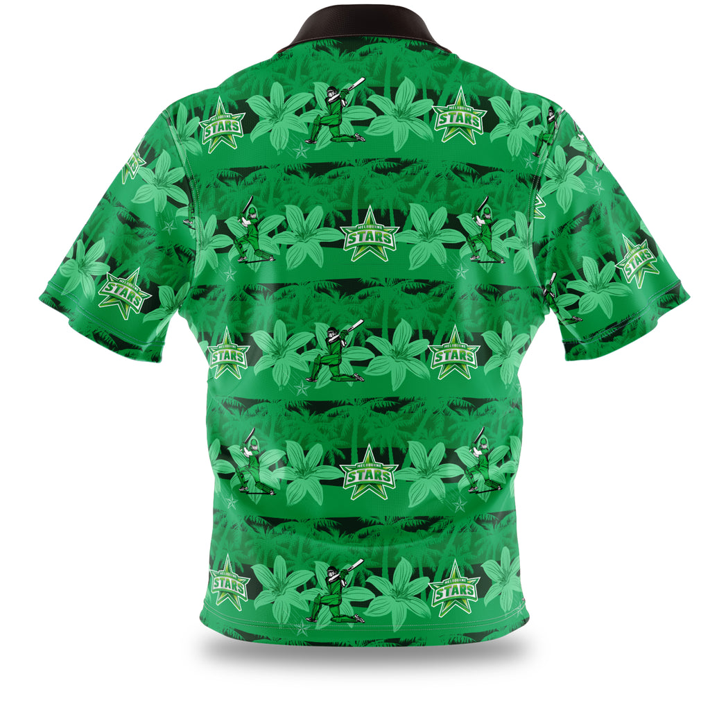 BBL Melbourne Stars Hawaiian Shirt Ashtabula