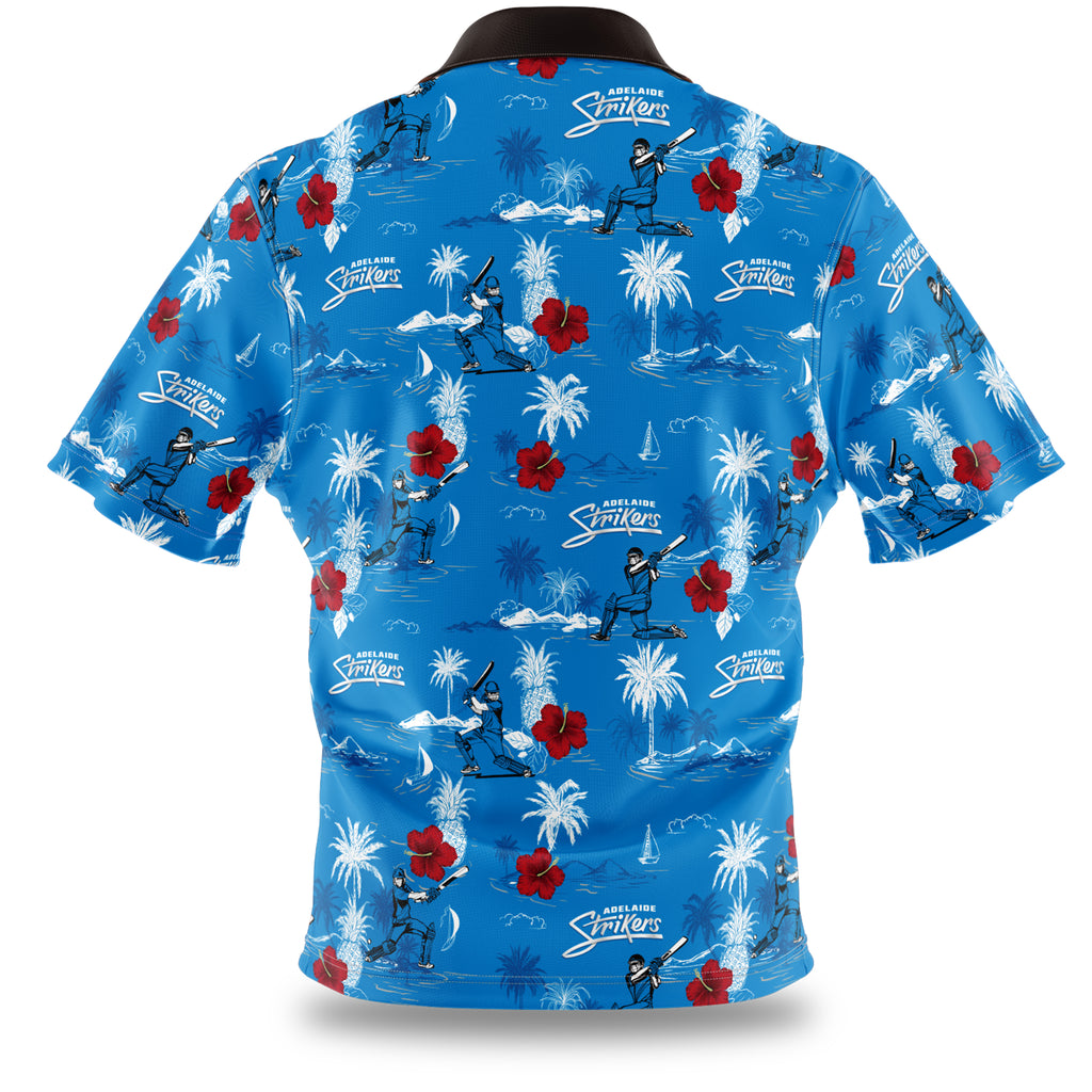 BBL Adelaide Strikers Hawaiian Shirt Ashtabula