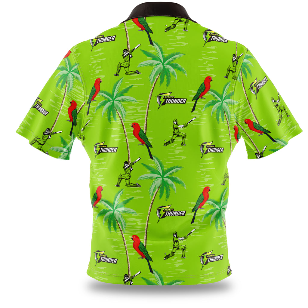 BBL Sydney Thunder Hawaiian Shirt Ashtabula