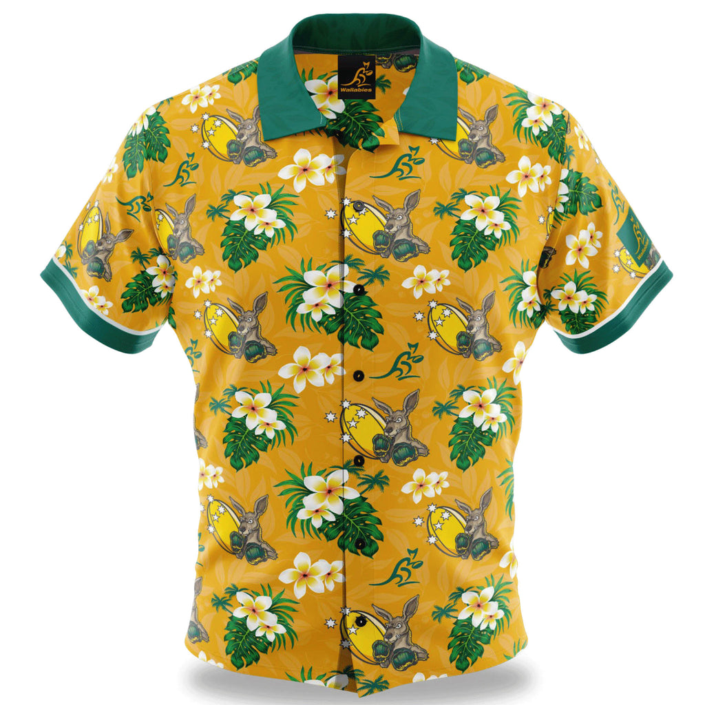 "Wallabies ""Boomer"" Hawaiian Shirt"