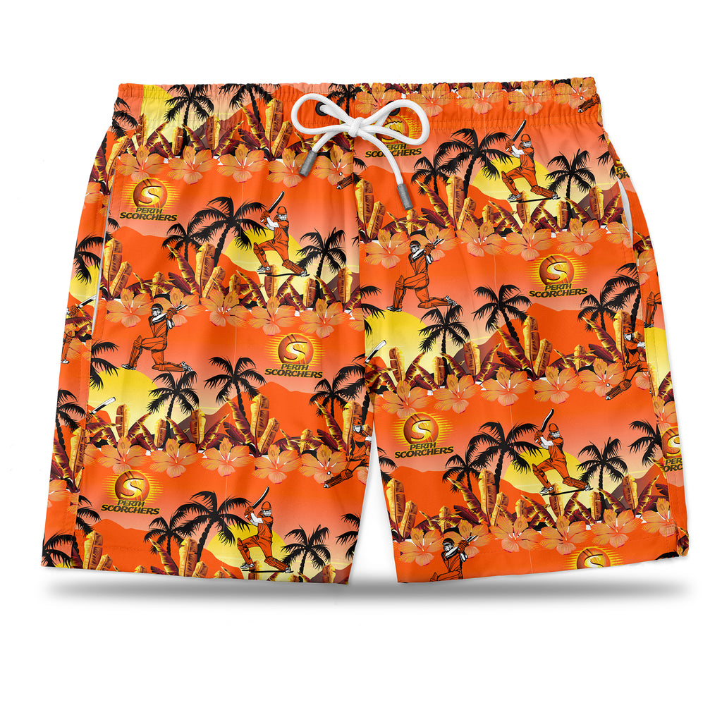 BBL Perth Scorchers Hawaiian Shorts