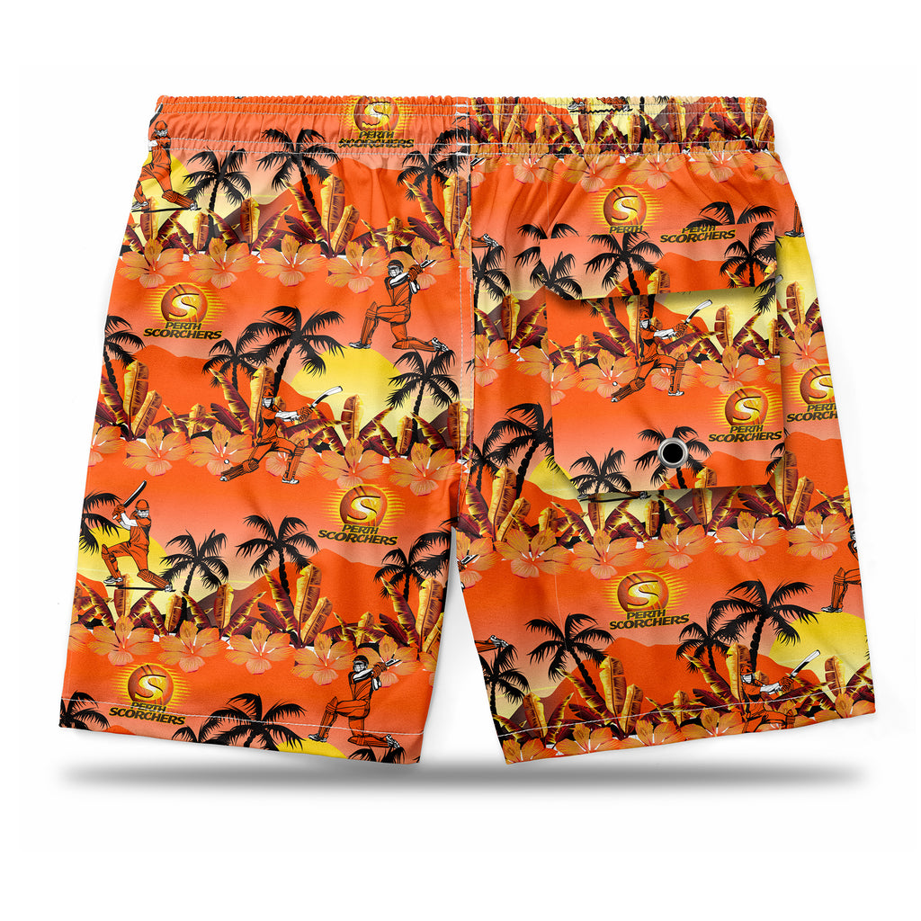 BBL Perth Scorchers Hawaiian Shorts Ashtabula