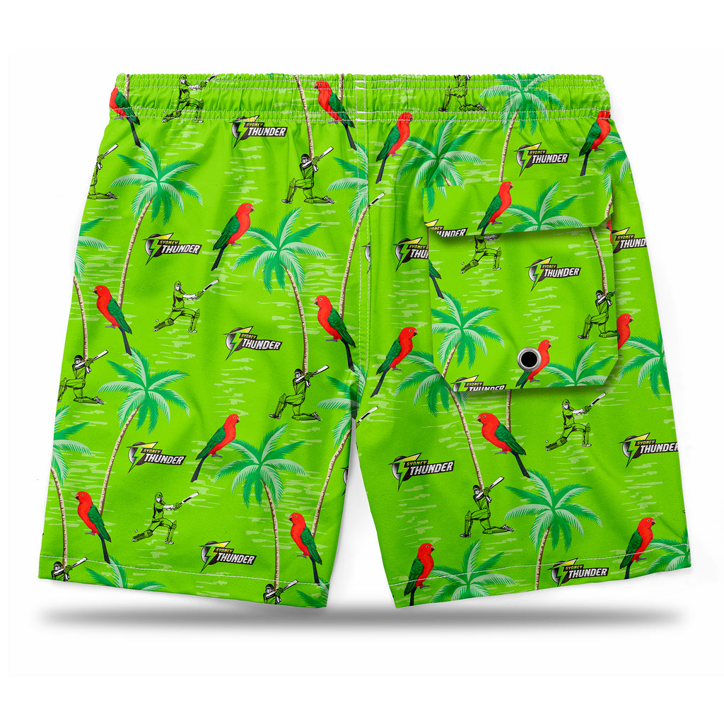 BBL Sydney Thunder Hawaiian Shorts Ashtabula