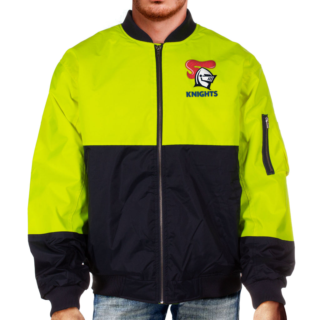 NRL Knights Hi-Vis Flying Jacket