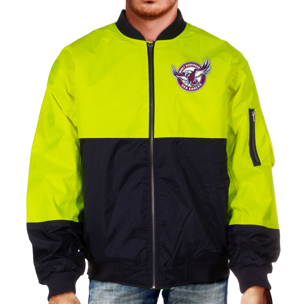 NRL Sea Eagles Hi-Vis Flying Jacket