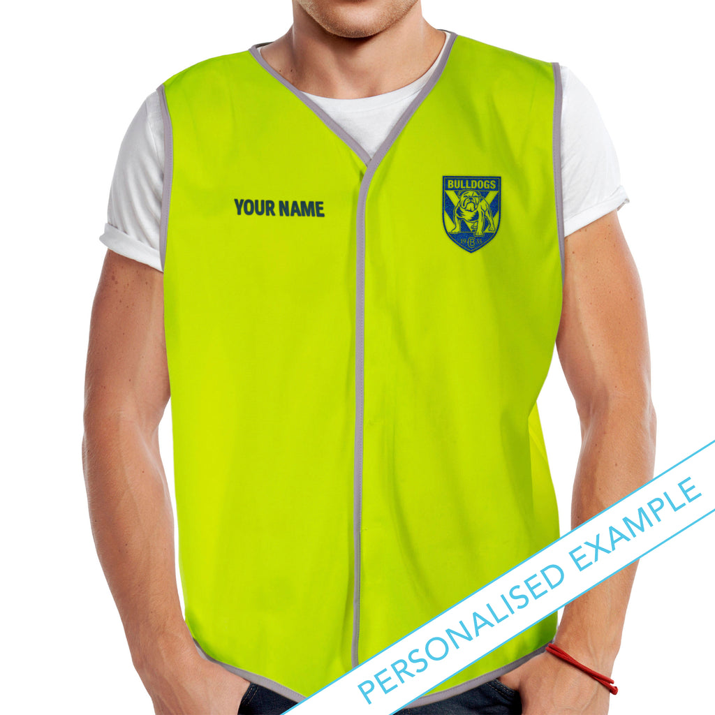 NRL Bulldogs Hi-Vis Safety Vest