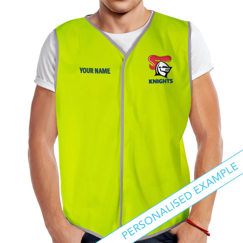 NRL Knights Hi-Vis Safety Vest