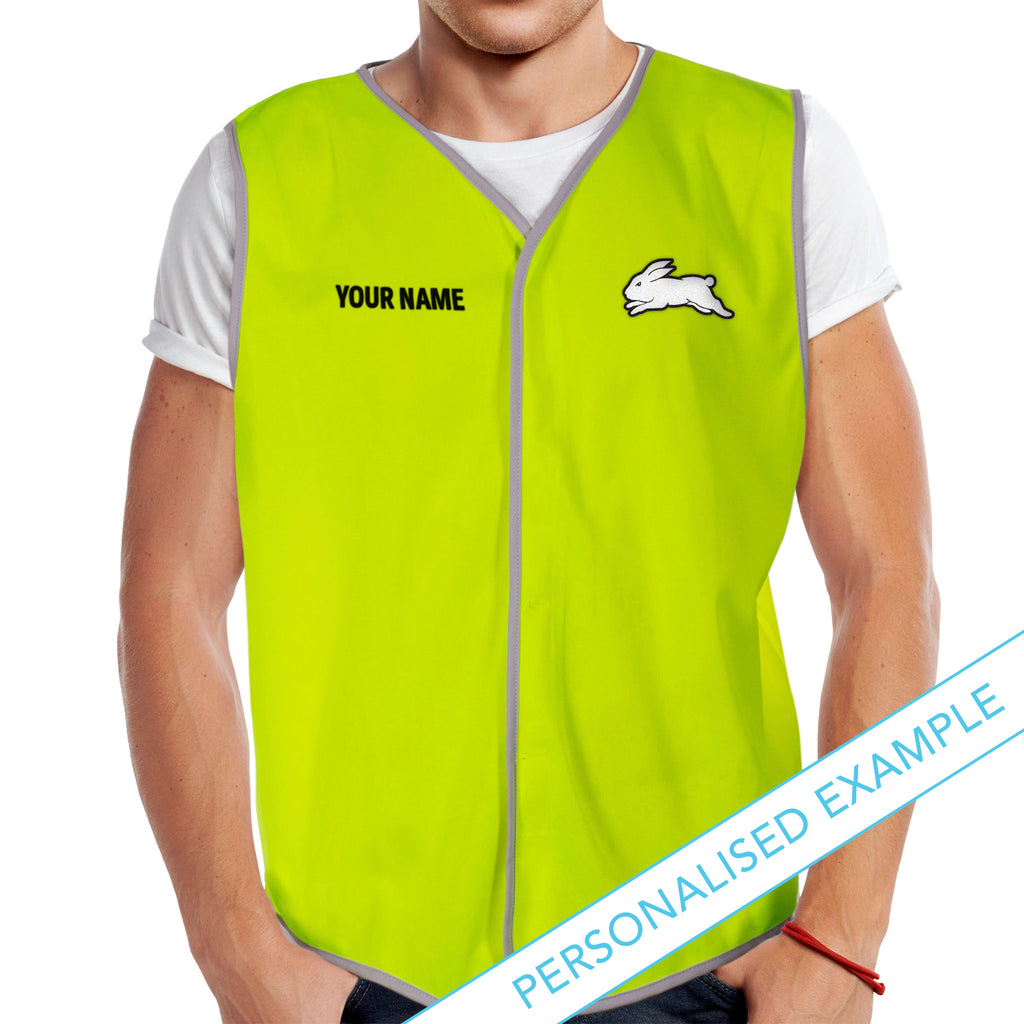 NRL Rabbitohs Hi-Vis Safety Vest