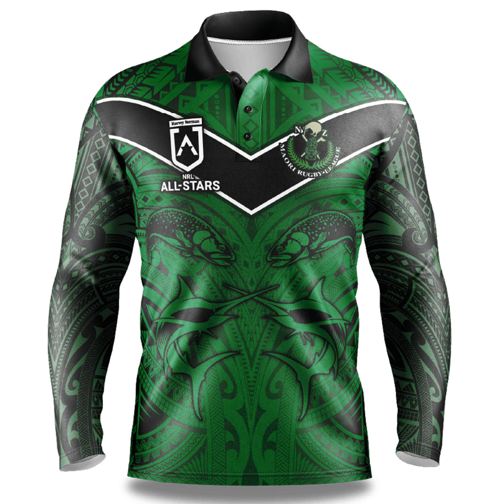 NRL Maori All Stars Fishing Shirt - Youth