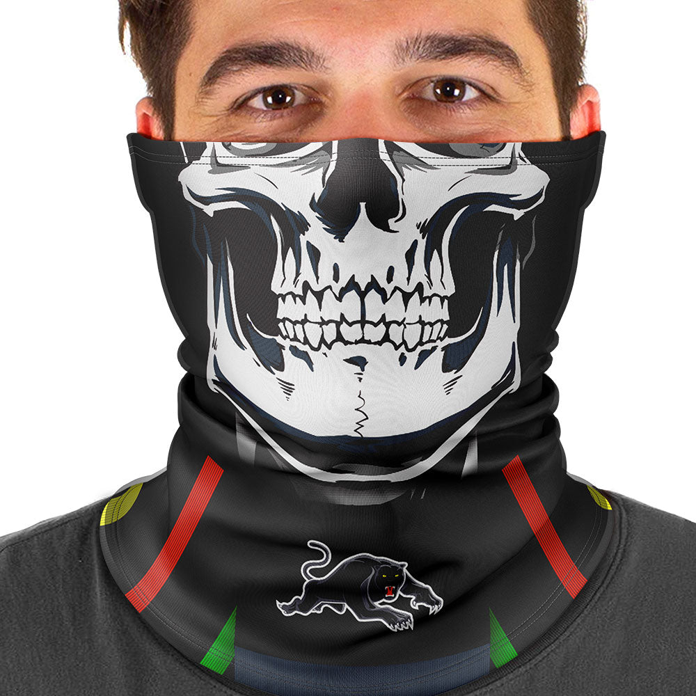 "NRL Panthers ""Skull-Face"" Multi-Purpose Scarf"