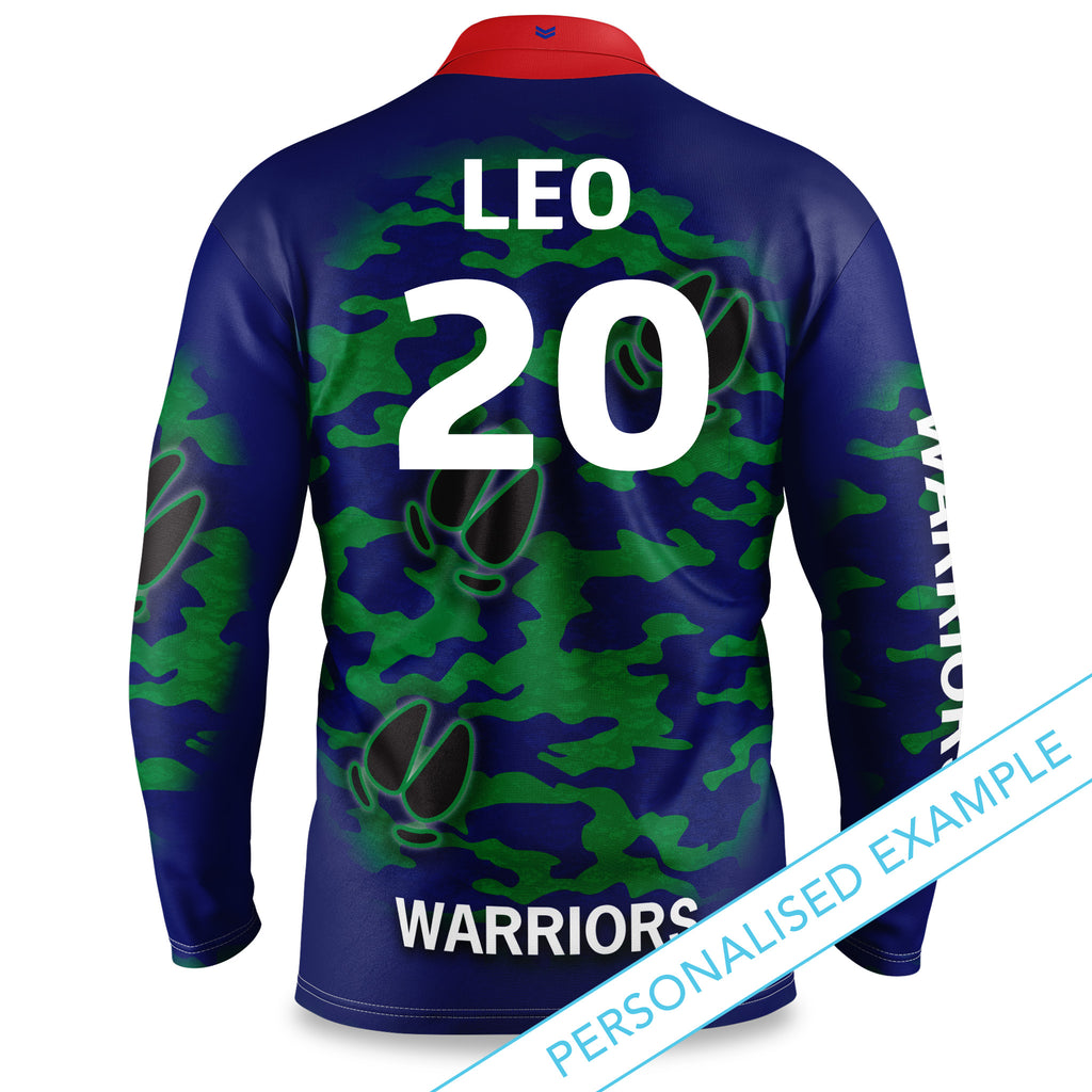 "NRL Warriors ""Razorback"" Outback Shirts - Youth"
