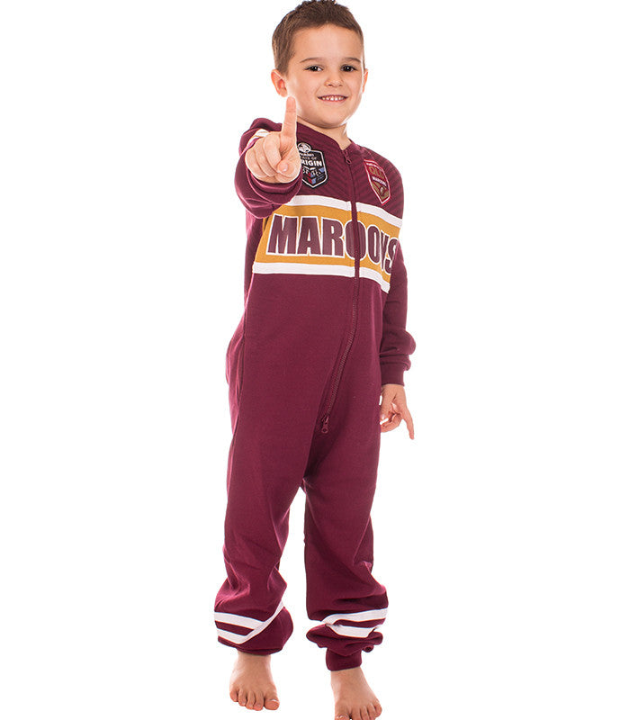 QLD Maroons Youth Onesie Ashtabula