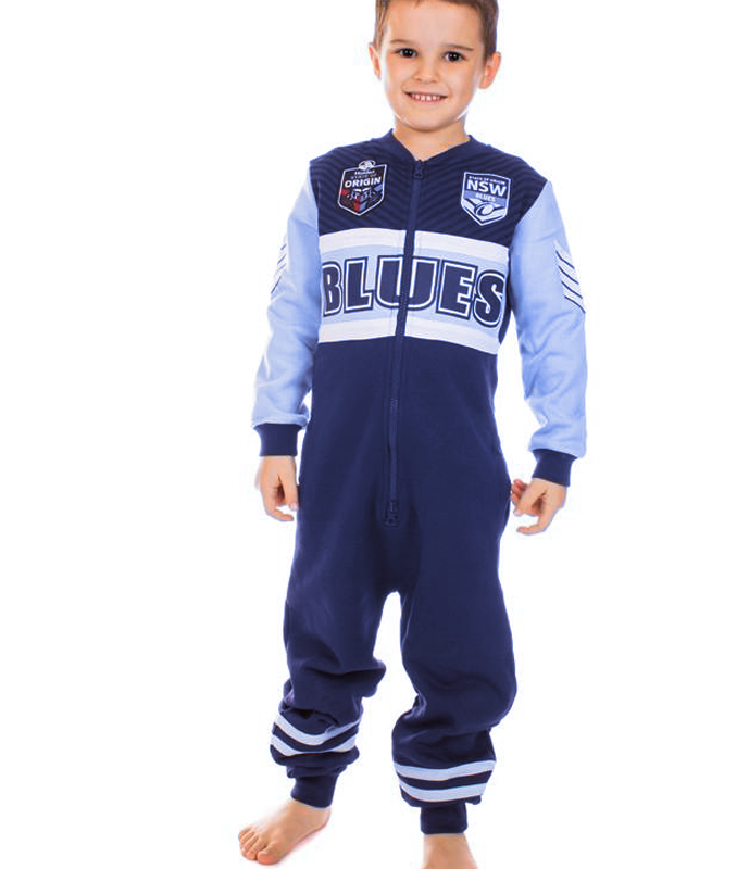 NSW Blues Youth Onesie