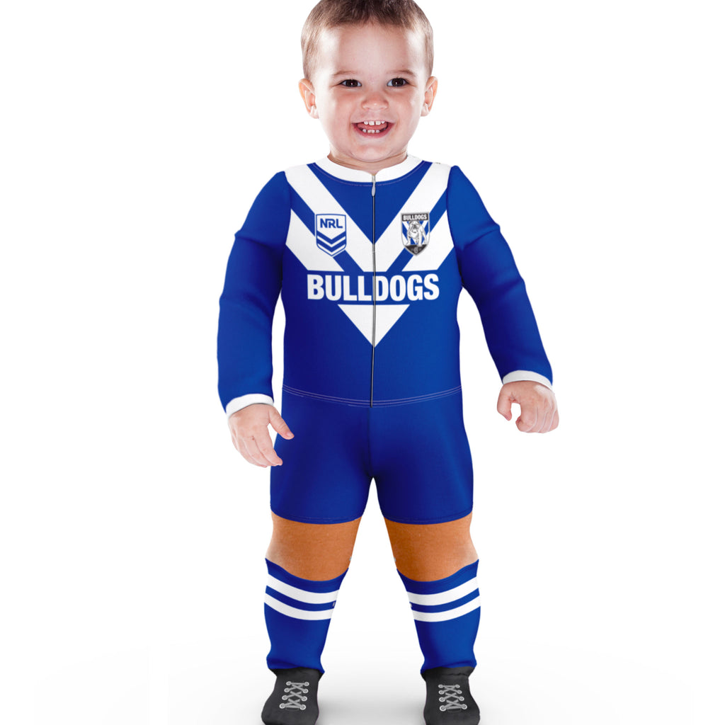 NRL Bulldogs Footysuit