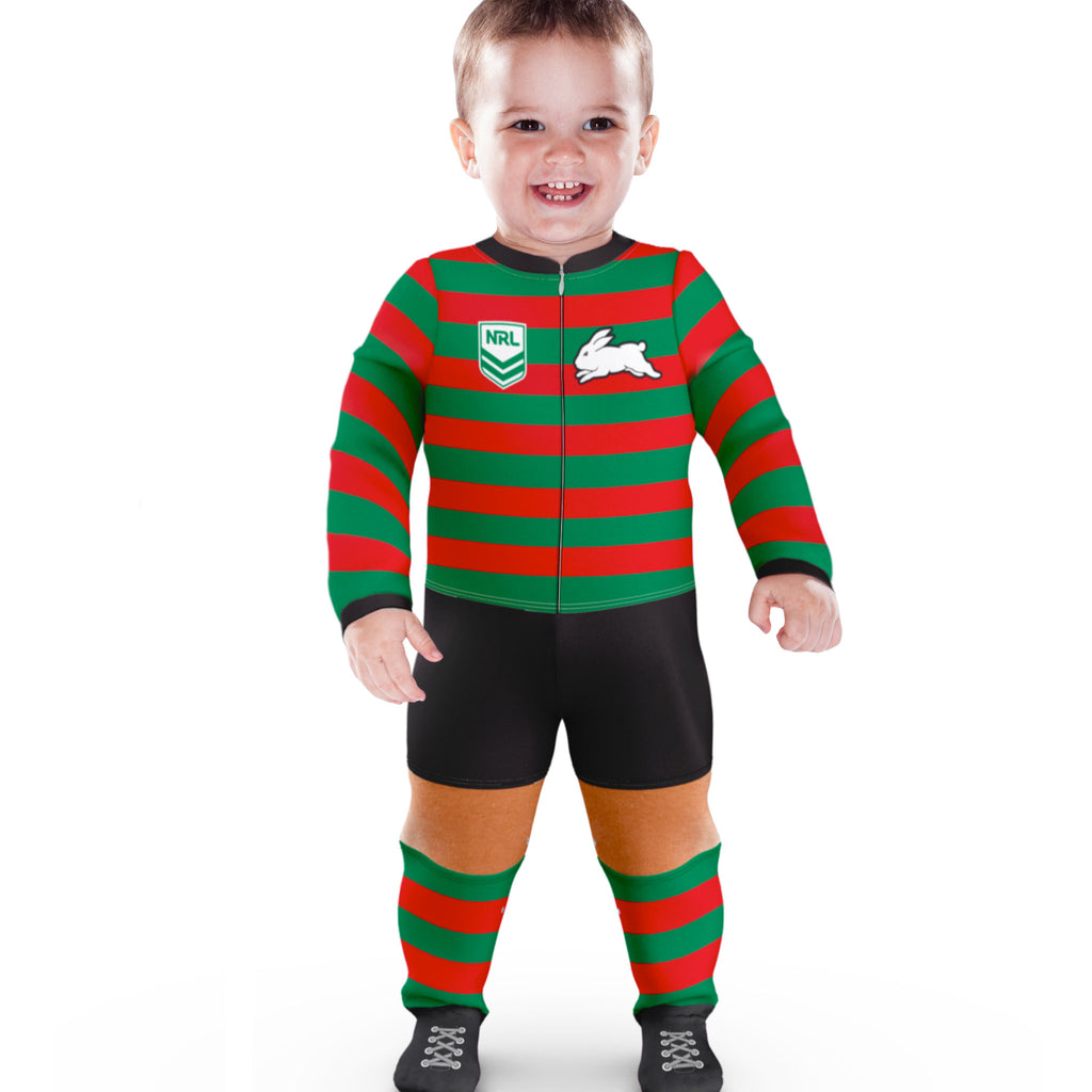 NRL Rabbitohs Footysuit